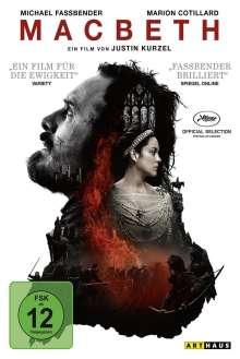 Macbeth (2015), DVD