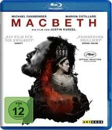 Macbeth (2015) (Blu-ray), Blu-ray Disc
