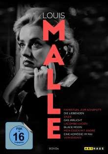 Louis Malle Edition, 9 DVDs