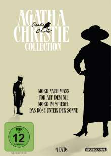 Agatha Christie Collection, 4 DVDs