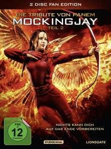 Die Tribute von Panem - Mockingjay Teil 2 (Fan Edition im Digipack), 2 DVDs