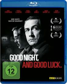 Good Night, and Good Luck. (Blu-ray), Blu-ray Disc
