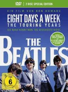 The Beatles: Eight Days A Week - The Touring Years (OmU) (Special-Edition) (Digipak), 2 DVDs