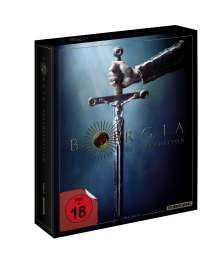 Borgia (Komplette Serie) (Blu-ray), 8 Blu-ray Discs