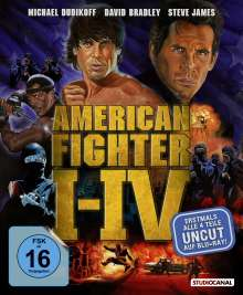 American Fighter 1-4 (Blu-ray), 4 Blu-ray Discs