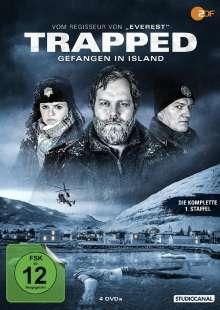 Trapped - Gefangen in Island Staffel 1, 4 DVDs