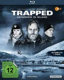 Trapped - Gefangen in Island Staffel 1 (Blu-ray), 3 Blu-ray Discs