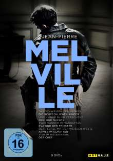 Jean-Pierre Melville (100th Anniversary Edition), 9 DVDs