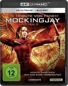 Die Tribute von Panem - Mockingjay Teil 2 (Ultra HD Blu-ray & Blu-ray), 1 Ultra HD Blu-ray und 1 Blu-ray Disc