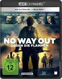 No Way Out (2017) (Ultra HD Blu-ray & Blu-ray), 1 Ultra HD Blu-ray und 1 Blu-ray Disc