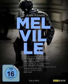 Jean-Pierre Melville (100th Anniversary Edition) (Blu-ray), 9 Blu-ray Discs
