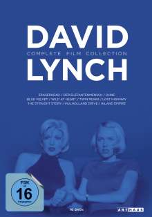 David Lynch (Complete Film Collection), 10 DVDs