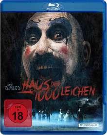 Haus der 1000 Leichen (Blu-ray), Blu-ray Disc
