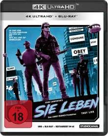 Sie leben (Ultra HD Blu-ray & Blu-ray), 1 Ultra HD Blu-ray und 1 Blu-ray Disc