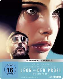 Leon - Der Profi (Director's Cut) (Ultra HD Blu-ray & Blu-ray im Steelbook), 1 Ultra HD Blu-ray und 1 Blu-ray Disc