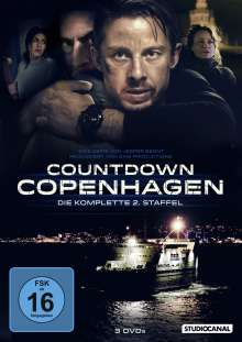 Countdown Copenhagen Staffel 2, 3 DVDs
