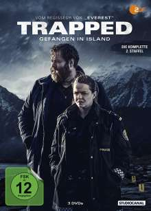 Trapped - Gefangen in Island Staffel 2, 3 DVDs
