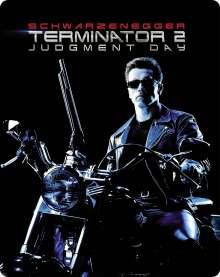 Terminator 2: Tag der Abrechnung (Ultra HD Blu-ray & 3D Blu-ray im Steelbook), 1 Ultra HD Blu-ray und 2 Blu-ray Discs
