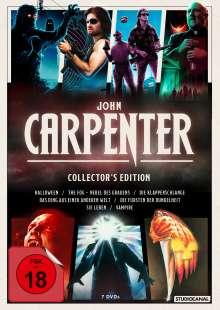 John Carpenter (Collector's Edition), 7 DVDs