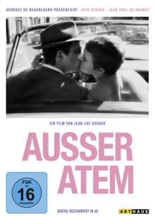 Ausser Atem (Collector's Edition), DVD