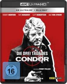 Die drei Tage des Condor (Ultra HD Blu-ray & Blu-ray), 1 Ultra HD Blu-ray und 1 Blu-ray Disc