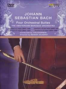 Johann Sebastian Bach (1685-1750): Orchestersuiten Nr.1-4, DVD