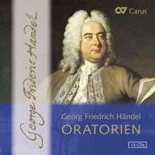 Georg Friedrich Händel (1685-1759): Oratorien, 13 CDs