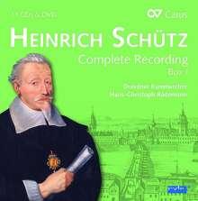 Heinrich Schütz (1585-1672): Heinrich Schütz - Die Gesamteinspielung Box 1 (Carus Schütz-Edition), 11 CDs