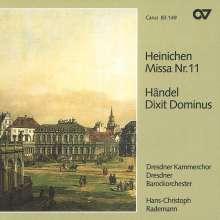 Johann David Heinichen (1683-1729): Messe Nr.11 D-Dur, CD