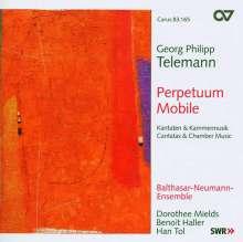"Georg Philipp Telemann (1681-1767): Ouvertüre in D TWV 55:D12 ""Perpetuum mobile"", CD"