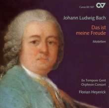 Johann Ludwig Bach (1677-1731): Motetten für Doppelchor, CD