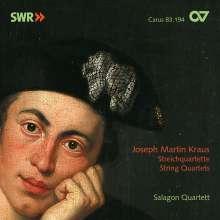 Josef Martin Kraus (1756-1792): Streichquartette op.1 Nr.2,3,6, CD