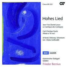 Carl Friedrich Christian Fasch (1736-1800): Missa a 16 voci, CD