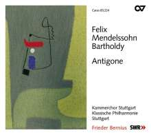 Felix Mendelssohn Bartholdy (1809-1847): Antigone op.55 (Schauspielmusik), CD