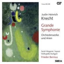 Justin Heinrich Knecht (1752-1817): Orchesterwerke & Arien, CD