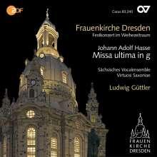 Johann Adolph Hasse (1699-1783): Missa ultima in g, CD