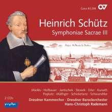 Heinrich Schütz (1585-1672): Symphoniae Sacrae III (Carus Schütz-Edition Vol.12), 2 CDs