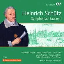 Heinrich Schütz (1585-1672): Symphoniae Sacrae II (Carus Schütz-Edition Vol.18), 2 CDs