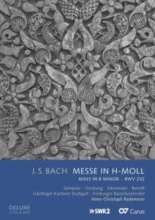 Johann Sebastian Bach (1685-1750): Messe h-moll BWV 232 (Deluxe-Ausgabe mit DVD), 2 CDs und 1 DVD