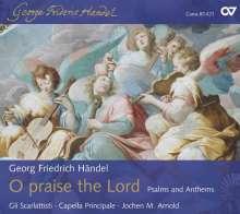 Georg Friedrich Händel (1685-1759): Laudate Pueri HWV 237 (Psalm 112), CD