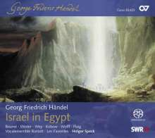 Georg Friedrich Händel (1685-1759): Israel in Egypt, 2 Super Audio CDs