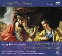 Georg Friedrich Händel (1685-1759): Alexander's Feast, 2 Super Audio CDs