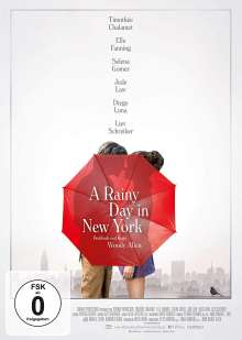 A Rainy Day in New York, DVD
