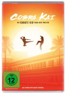 Cobra Kai Staffel 1, 2 DVDs
