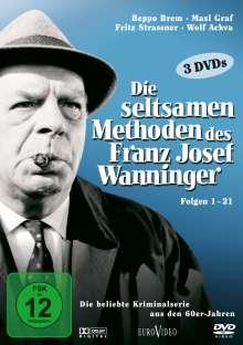 Die seltsamen Methoden des Franz Josef Wanninger Teil 1, 3 DVDs