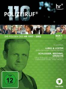 Polizeiruf 110 - HR Box 1, 3 DVDs
