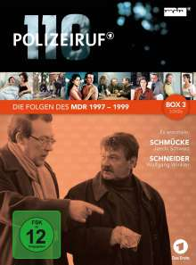 Polizeiruf 110 - MDR Box 3, 3 DVDs