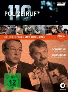Polizeiruf 110 - MDR Box 6, 3 DVDs