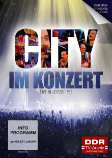 Im Konzert: City - Live in Leipzig 1983, DVD