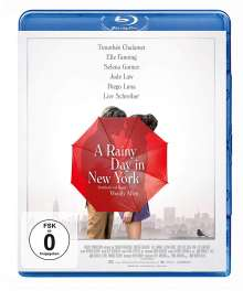 A Rainy Day in New York (Blu-ray), Blu-ray Disc